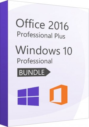 Windows 10 Professional + Office 2016 Professional - Package