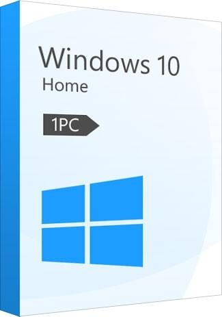 Windows 10 Home CD-KEY (32/64 Bit) (1 PC)
